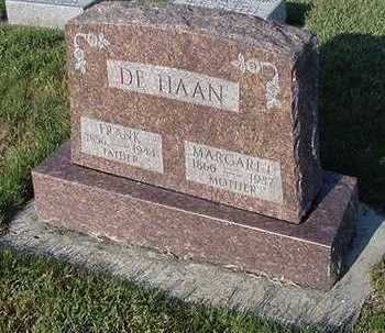 DEHAAN, MARGARET  (MRS. FRANK) - Sioux County, Iowa | MARGARET  (MRS. FRANK) DEHAAN