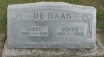 DEHAAN, GERRIT - Sioux County, Iowa | GERRIT DEHAAN