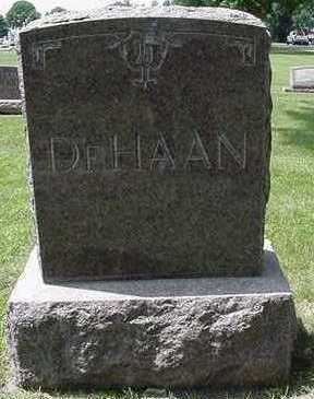 DEHAAN, HEADSTONE - Sioux County, Iowa | HEADSTONE DEHAAN