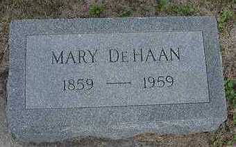 DEHAAN, MARY - Sioux County, Iowa | MARY DEHAAN
