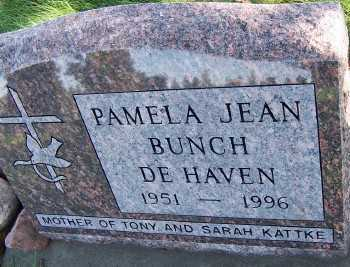 BUNCH DEHAVEN, PAMELA JEAN - Sioux County, Iowa | PAMELA JEAN BUNCH DEHAVEN