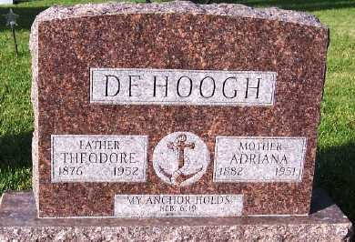 DEHOOGH, THEODORE - Sioux County, Iowa | THEODORE DEHOOGH