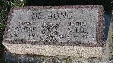 DEJONG, NELLIE (MRS. GEORGE) - Sioux County, Iowa | NELLIE (MRS. GEORGE) DEJONG