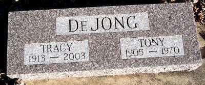 DEJONG, TONY - Sioux County, Iowa | TONY DEJONG