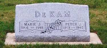 DEKAM, PETER J. - Sioux County, Iowa | PETER J. DEKAM