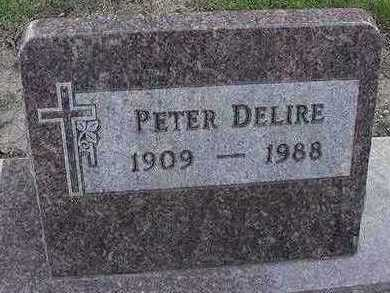 DELIRE, PETER - Sioux County, Iowa | PETER DELIRE