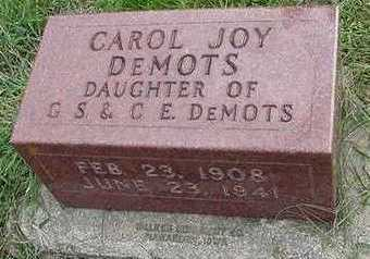 DEMOTS, CAROL J. - Sioux County, Iowa | CAROL J. DEMOTS