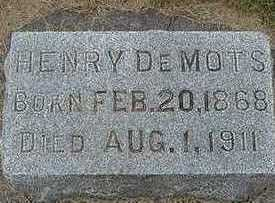 DEMOTS, HENRY - Sioux County, Iowa | HENRY DEMOTS