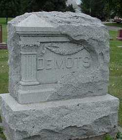 DEMOTS, HEADSTONE - Sioux County, Iowa | HEADSTONE DEMOTS
