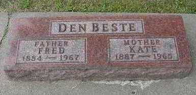 DENBESTE, FRED - Sioux County, Iowa | FRED DENBESTE