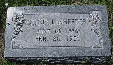 DENHERDER, GIJSE - Sioux County, Iowa | GIJSE DENHERDER