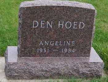 DENHOED, ANGELINE - Sioux County, Iowa | ANGELINE DENHOED