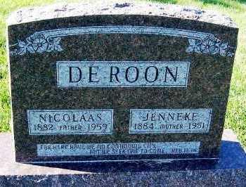 DEROON, NICOLAS - Sioux County, Iowa | NICOLAS DEROON