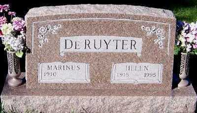DERUYTER, MARINUS - Sioux County, Iowa | MARINUS DERUYTER