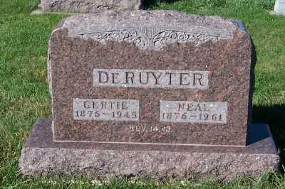 DERUYTER, GERTIE - Sioux County, Iowa | GERTIE DERUYTER
