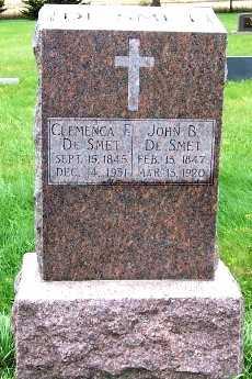 DESMET, JOHN B. - Sioux County, Iowa | JOHN B. DESMET