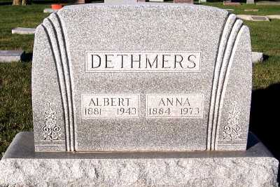 DETHMERS, ALBERT - Sioux County, Iowa | ALBERT DETHMERS