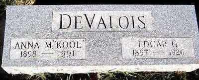 DEVALOIS, ANNA M. - Sioux County, Iowa | ANNA M. DEVALOIS