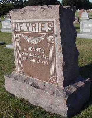 DEVRIES, L. - Sioux County, Iowa | L. DEVRIES
