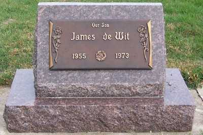DEWIT, JAMES - Sioux County, Iowa | JAMES DEWIT