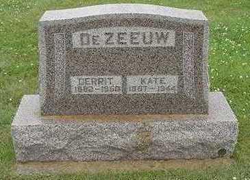 DEZEEUW, KATE - Sioux County, Iowa | KATE DEZEEUW