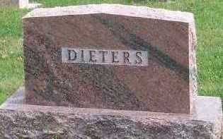 DIETERS, HEADSTONE - Sioux County, Iowa | HEADSTONE DIETERS