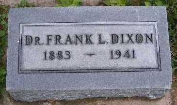 DIXON, DR. FRANK - Sioux County, Iowa | DR. FRANK DIXON