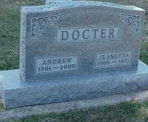 DOCTER, JEANETTA (MRS. ANDREW) - Sioux County, Iowa | JEANETTA (MRS. ANDREW) DOCTER