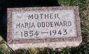 DODEWARD, MARIA - Sioux County, Iowa | MARIA DODEWARD