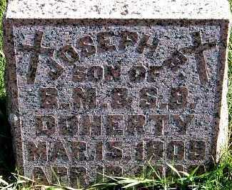 DOHERTY, JOSEPH B. - Sioux County, Iowa   JOSEPH B. DOHERTY