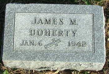 DOHERTY, JAMES M. - Sioux County, Iowa   JAMES M. DOHERTY