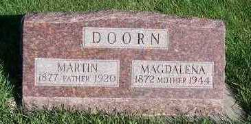 DOORN, MARTIN - Sioux County, Iowa | MARTIN DOORN