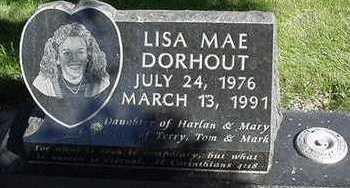 DORHOUT, LISA MAE - Sioux County, Iowa | LISA MAE DORHOUT
