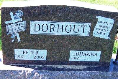 DORHOUT, PETER - Sioux County, Iowa | PETER DORHOUT