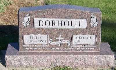 DORHOUT, TILLIE (MRS. GEORGE) - Sioux County, Iowa | TILLIE (MRS. GEORGE) DORHOUT