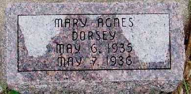 DORSEY, MARY AGNES - Sioux County, Iowa | MARY AGNES DORSEY