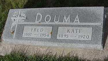 DOUMA, FRED - Sioux County, Iowa | FRED DOUMA