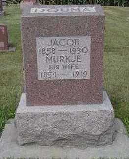 DOUMA, MURKJE - Sioux County, Iowa | MURKJE DOUMA
