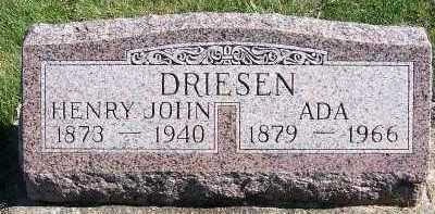 DRIESEN, ADA - Sioux County, Iowa | ADA DRIESEN