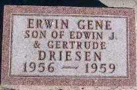 DRIESEN, ERWIN GENE - Sioux County, Iowa | ERWIN GENE DRIESEN