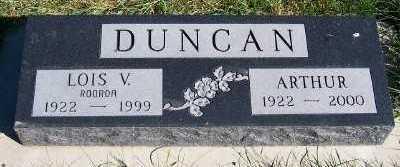 ROORDA DUNCAN, LOIS V. - Sioux County, Iowa | LOIS V. ROORDA DUNCAN