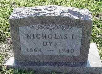 DYK, NICHOLAS L. - Sioux County, Iowa | NICHOLAS L. DYK