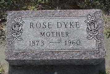 DYK, ROSE - Sioux County, Iowa | ROSE DYK