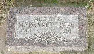 DYKE, MARGARET - Sioux County, Iowa | MARGARET DYKE