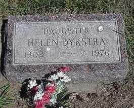 DYKSTRA, HELEN - Sioux County, Iowa | HELEN DYKSTRA
