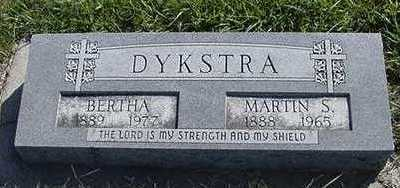 DYKSTRA, BERTHA (MRS. MARTIN ) - Sioux County, Iowa | BERTHA (MRS. MARTIN ) DYKSTRA
