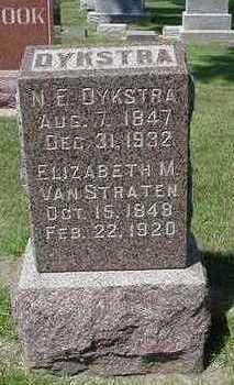 VANSTRATEN DYKSTRA, ELIZABETH M. - Sioux County, Iowa | ELIZABETH M. VANSTRATEN DYKSTRA