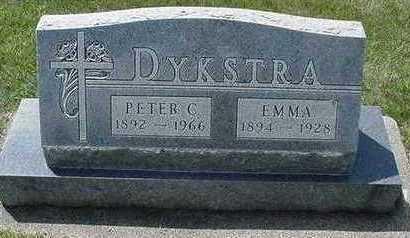 DYKSTRA, EMMA - Sioux County, Iowa | EMMA DYKSTRA