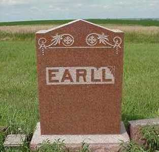 EARLL, HEADSTONE - Sioux County, Iowa | HEADSTONE EARLL