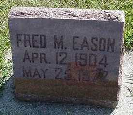 EASON, FRED M. - Sioux County, Iowa | FRED M. EASON